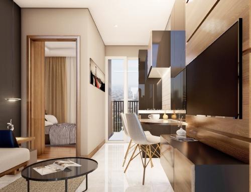 Tips mendesain ruangan apartemen agar luas dan cantik